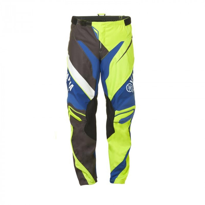 Pantaloni motocross Yamaha Racing MX culoare albastru/maro/verde marime 30 Cod Produs: MX_NEW A17GP100G130YA