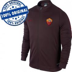 Bluza Nike AS Roma pentru barbati - bluza originala, XL, Cu fermoar, Poliester