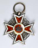 Ordinul / Decoratia Coroana Romaniei tip1, Cavaler Civil