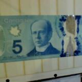 Bancnota Canada 5 dollari 2013 - circulata