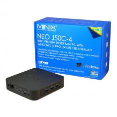 Aproape nou: Mini PC cu Windows 10 Pro (64-bit) MINIX NEO J50C-4, Intel Pentium Sil