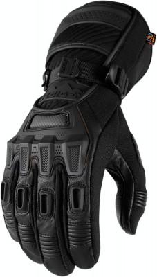 Manusi textile Waterproof Icon Raiden Alcan, negru, M Cod Produs: MX_NEW 33012639PE foto