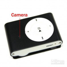 MP3 Player cu Camera Spion, Autonomie 160 de minute, Card 16GB CADOU! Spy