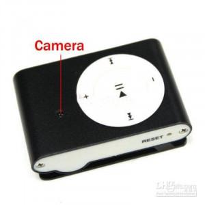 MP3 Player cu Camera Spion, Autonomie 160 de minute, Card 16GB CADOU! Spy