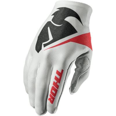 Manusi motocross Thor invert glove marime l flection alb Cod Produs: MX_NEW 33303933PE foto
