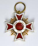 Ordinul / Decoratia Coroana Romaniei tip 2, Ofiter, Civil, Deosebita
