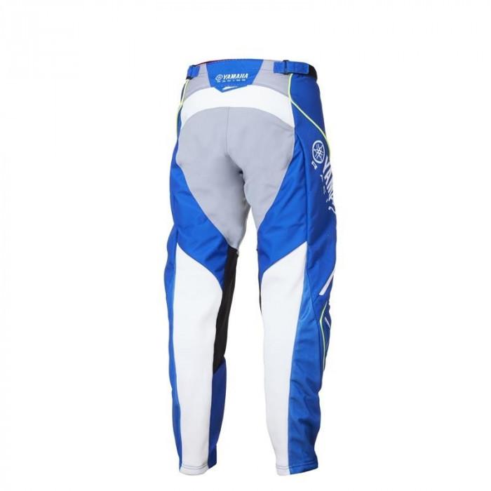 Pantaloni motocross Yamaha Racing MX culoare albastru/alb marime 32 Cod Produs: MX_NEW A18RP106E732YA