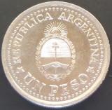 Moneda COMEMORATIVA 1 PESO - ARGENTINA, anul 1960   *cod 696 - EXCELENTA