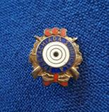 Insigna Spartachiada sindicala - CCS - Tir