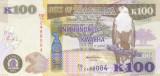 Bancnota Zambia 100 Kwacha 2012 - P54a UNC