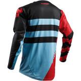 Tricou motocross Thor Fuse Air Rive marime S rosu/albastru Cod Produs: MX_NEW 29104328PE