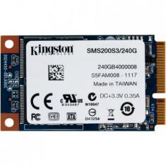 Cumpara ieftin Solid State Drive SSD MLC Kingston SSDNow mS200 240GB mSATA SATA III HDD laptop
