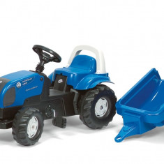 Tractor Cu Pedale Si Remorca ROLLY TOYS 011841 Albastru