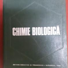 CHIMIE BIOLOGICA - ELENA STANCU