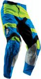 Pantalon Copii Atv/Cross Thor Pulse Level albastru/verde marime 18 Cod Produs: MX_NEW 29031531PE, Pantaloni