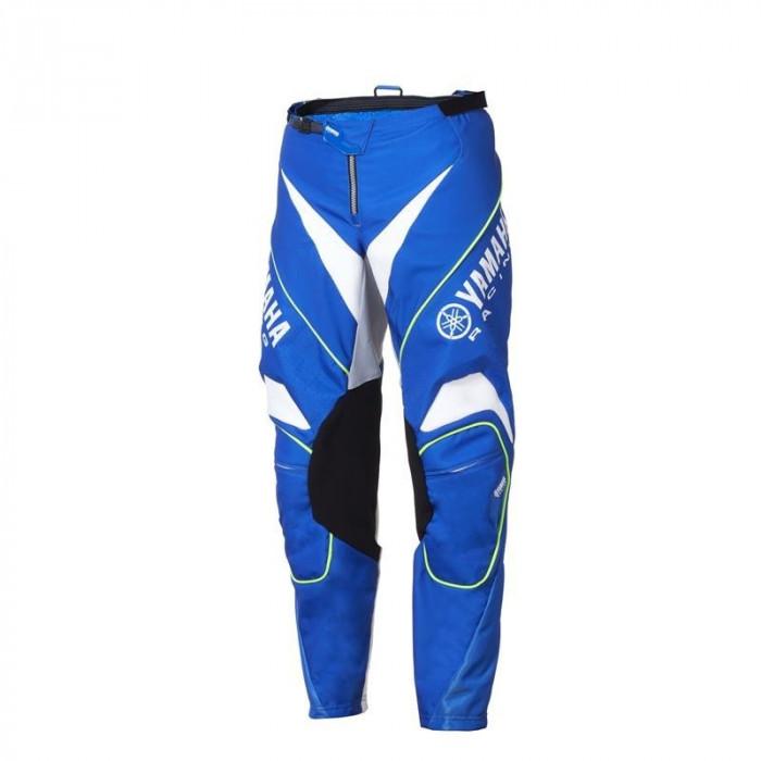 Pantaloni motocross Yamaha Racing MX culoare albastru/alb marime 28 Cod Produs: MX_NEW A18RP106E728YA