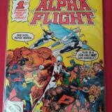 Alpha Flight-Lot 3 reviste benzi desenate (Marvel comics)
