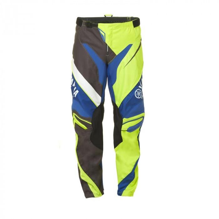 Pantaloni motocross Yamaha Racing MX culoare albastru/maro/verde marime 38 Cod Produs: MX_NEW A17GP100G138YA