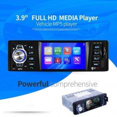 "Radio MP3 MP5 Player Auto cu Bluetooth Display 3.9"" cu USB Card Reader Media"