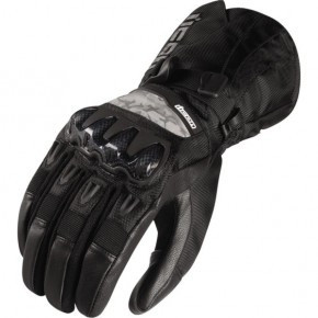 Manusi moto textil Icon Patrol culoare negru marime L Cod Produs: MX_NEW 33100267PE