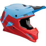 Casca ATV/Cross Thor Sector level albastru/rosu marime XS Cod Produs: MX_NEW 01105148PE