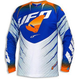 Tricou motocross UFO VOLTAGE culoare albastru/portocaliu S Cod Produs: MX_NEW MG04378CWS