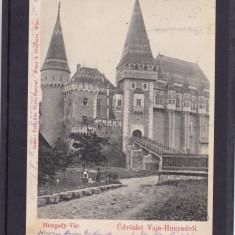 SALUTRI DIN  HUNEDOARA  CASTELUL CORVINILOR   CLASICA  CIRCULATA 1899, Printata
