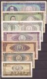 Romania 1966 - Set complet 1, 3, 5, 10, 25, 50, 100 lei
