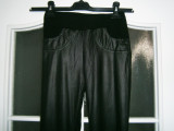 Pantaloni-colanti dama TFNC, made in France, mar XS, stare perfecta!, Negru