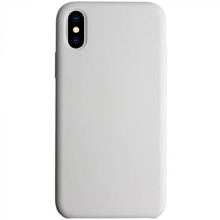 Husa Capac Spate Liquid Gri APPLE iPhone Xs Max