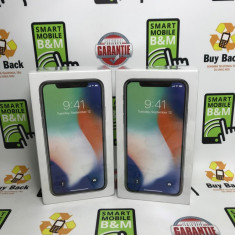 iPhone X Silver 256GB Nou Neverlocked Factura & Garantie