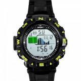 Ceas barbatesc  Quartz digital  cu data cronometru + cutie cadou