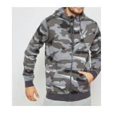 Bluza,Hanorac Nike Nsw Club Camo-Bluza Originala-AQ0596-065, L