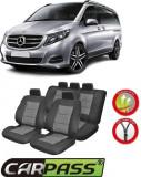 Huse Scaune Dedicate Mercedes-Benz Vito/Viano 5 locuri 2014-2017 Premium