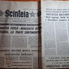ziarul scanteia 3 februarie 1988- foto municipiul ploiesti