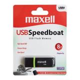 FLASH DRIVE 8GB USB 2.0 SPEEDBOAT MAXELL