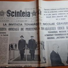 ziarul scanteia 29 octombrie 1987-cuvantarea lui ceausescu