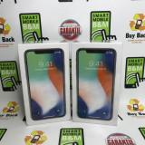 IPhone X Silver 64GB Nou Neverlocked Factura & Garantie, Argintiu, Neblocat, Apple