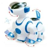 Caine robot inteligent Bump&Go, sunet si lumina