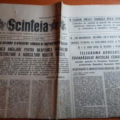 ziarul scanteia 13 august 1989