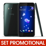 Set HTC U11 - Folie de Sticla 9H + Husa Silicon (Transparenta)