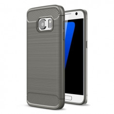 Husa SAMSUNG Galaxy S6 - Carbon (Gri) Forcell