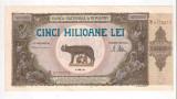 BANCNOTE  5000000 LEI  1947 (CINCI MILIOANE)