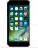 Iphone 7 plus jet black, Negru, 256GB, Neblocat, Apple