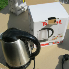 Fierbator TEFAL, inox,1.7 litri,folosit, 1,7 L, 2400 W