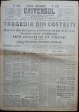 Ziarul Universul , 20 Apr. 1930 ; Incendiul bisericii din Costesti , jud. Arges