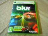 Joc Blur, xbox360, original! Alte sute de jocuri!, Curse auto-moto, 3+, Multiplayer, Activision