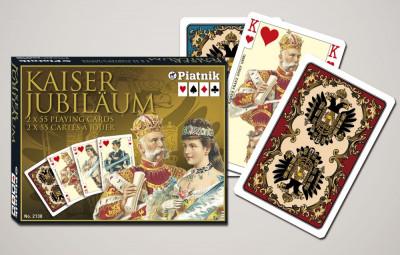 Cărți de joc  Austria, Kaiser Jubilaum. Piatnik. foto