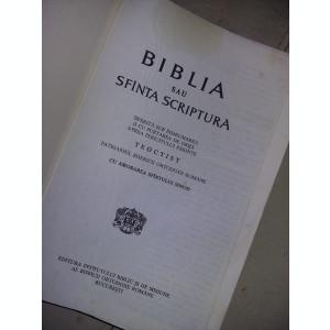 BIBLIE veche 1991,Sfanta Scriptura,reproducere 1982,1414 pagini,Tp.GRATUIT