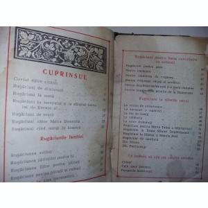 CARTE DE RUGACIUNI veche 1973 prea Sfintitul ANTIM,Epicop Buzau,T.GRATUIT